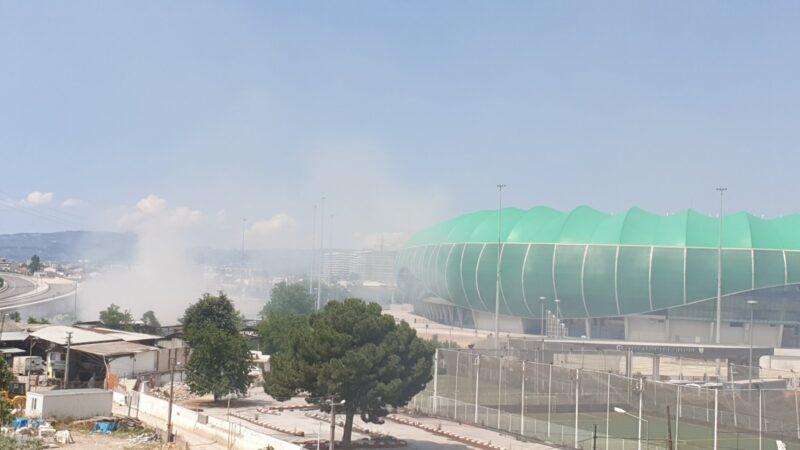 Timsah Arena için yapılan yangın uyarısına Bursaspor'dan cevap