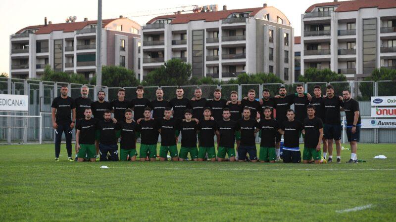 Bursasporlu futbolcular Elmalı davasına tepki gösterdi
