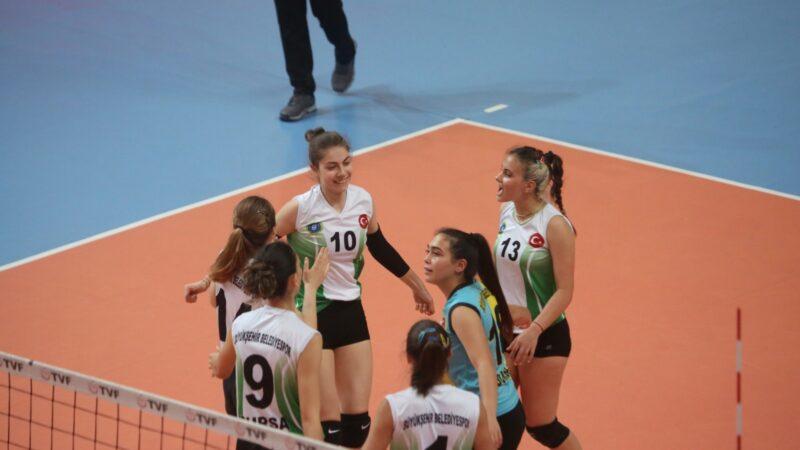 Büyükşehir'den çifte final!