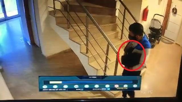 Bursa'da ayakkabı hırsızlığı kamerada