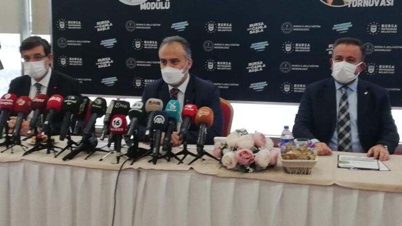 Bursa Büyükşehir Belediye Başkanı Alinur Aktaş'tan önemli açıklamalar…