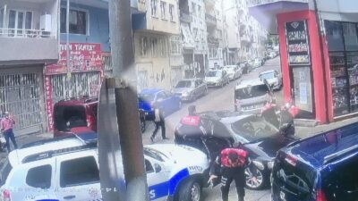 Bursa'da 'dur' ihtarına uymayarak polise çarpan sürücü böyle yakalandı
