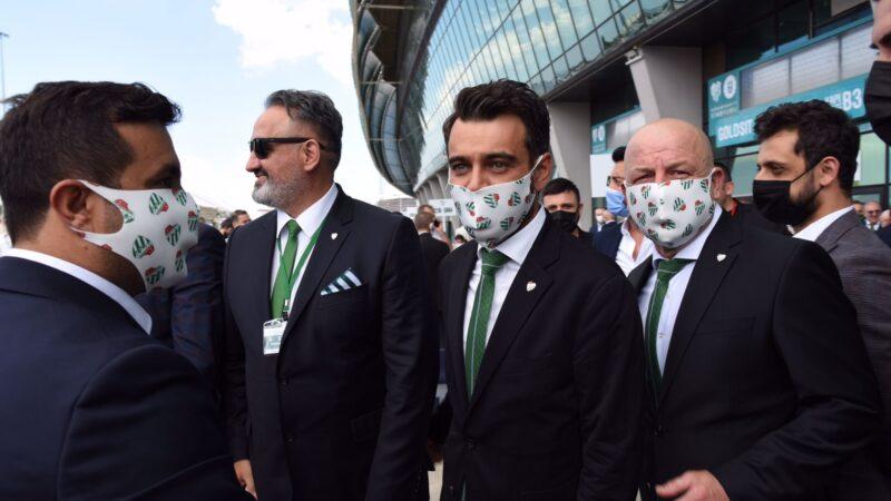 Bursaspor'un yeni başkanından ilk mesaj!