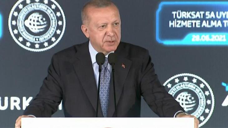 Cumhurbaşkanı Erdoğan yerli uydu için tarih verdi…