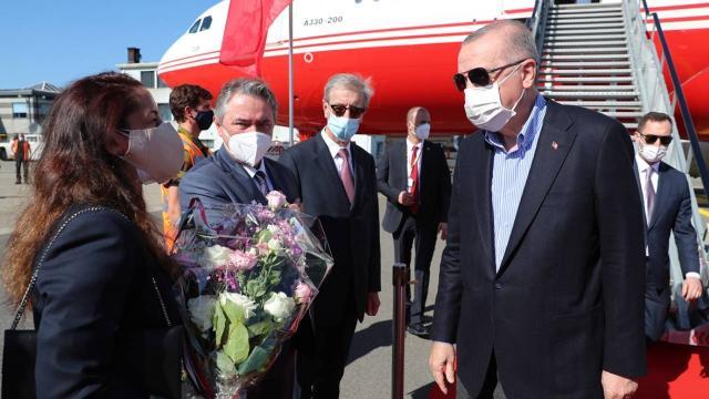 Cumhurbaşkanı Erdoğan Brüksel'de