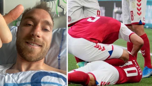 Kalp krizi geçiren Eriksen'den 3 gün sonra ilk mesaj