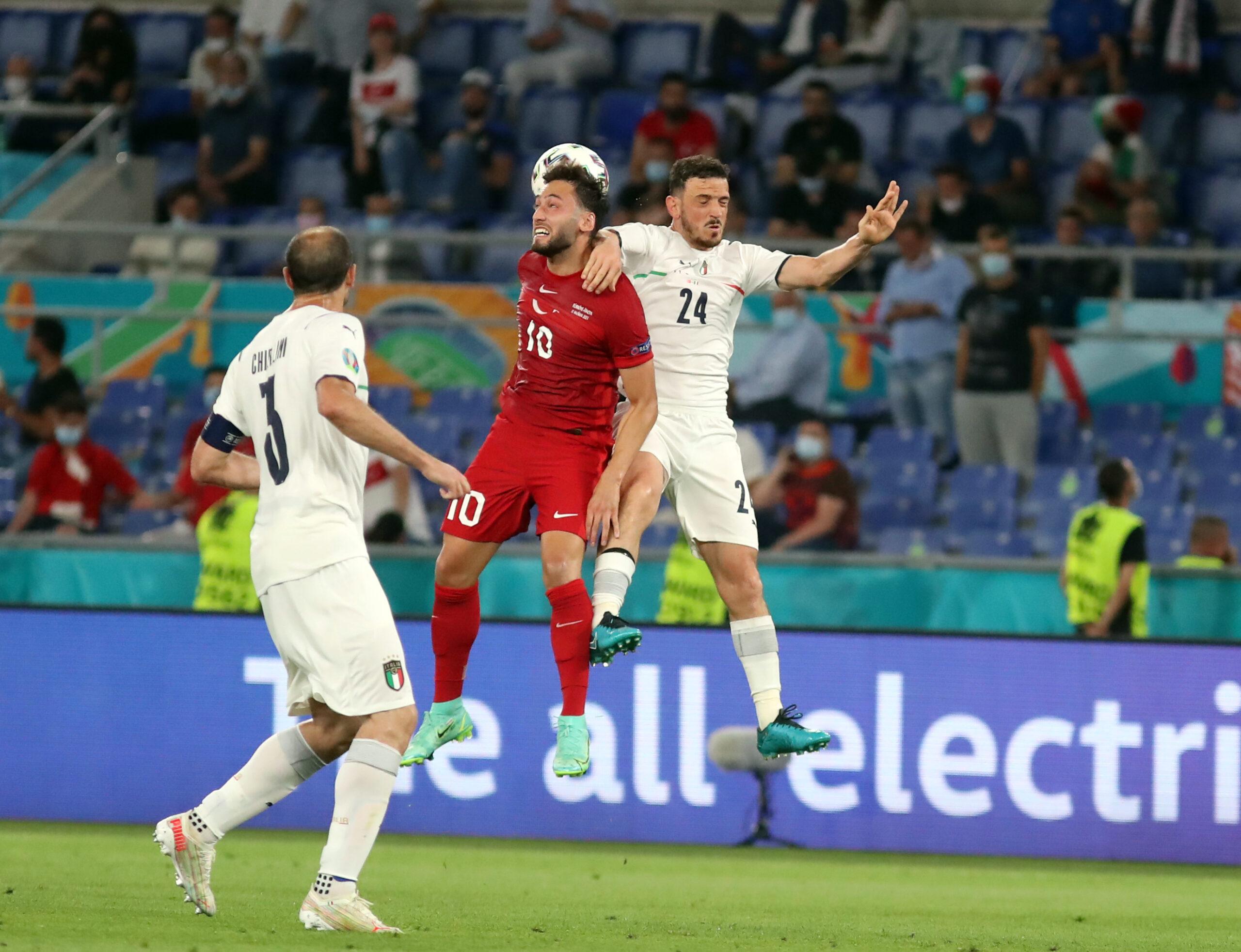 Avrupa'nın gözünden Türkiye-İtalya maçı…