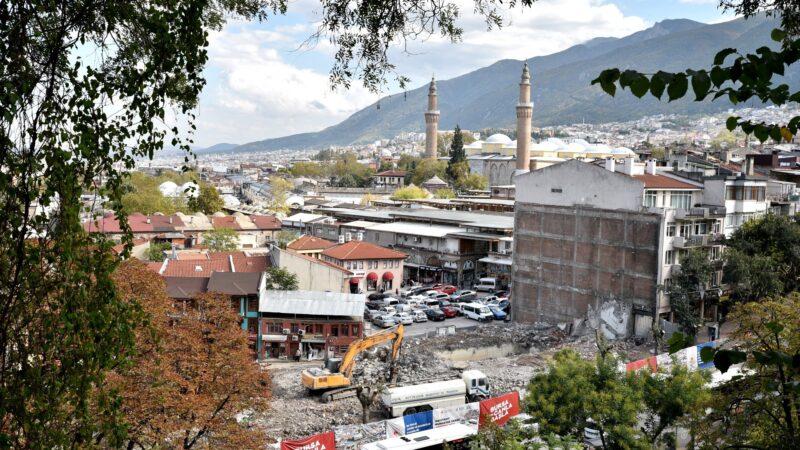 Bursa'da değnekçi krizi!