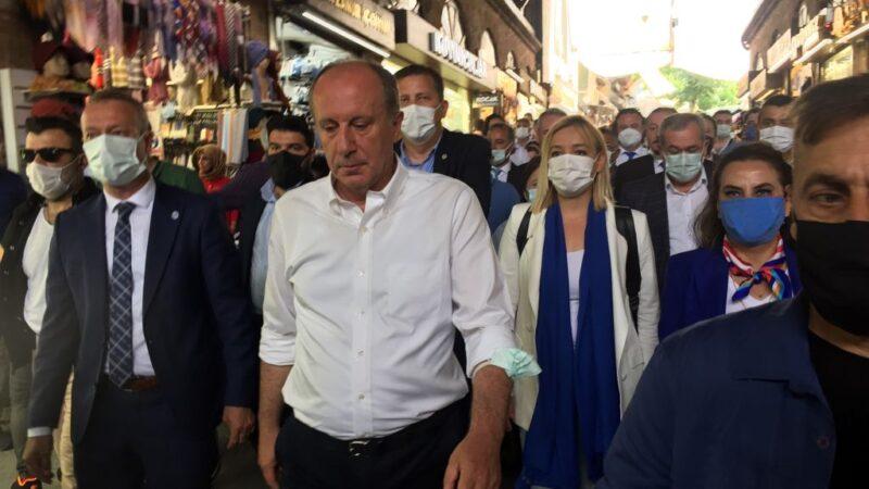 Muharrem İnce Bursa'da!