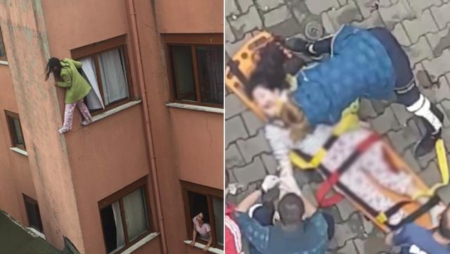 İkna etmek için çırpınsalar da yetmedi! Kendini 4. kattan aşağıya attı