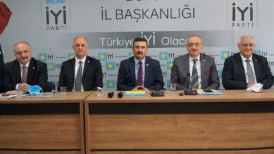 İYİ Parti kurmayları Bursa'da toplandı…