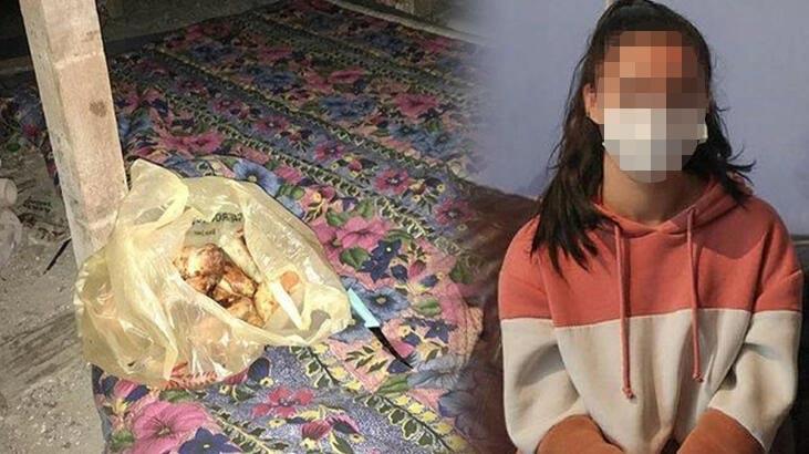Liseli kız dehşeti yaşadı… Çatıda 8 günlük esaret!