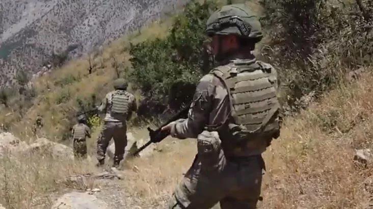 MSB duyurdu! 2 PKK'lı terörist etkisiz hale getirildi