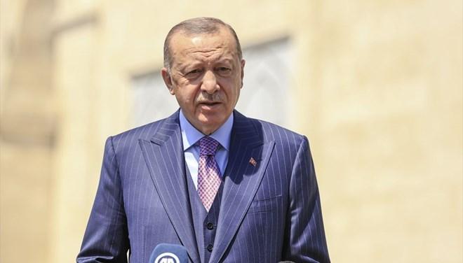 Cumhurbaşkanı Erdoğan'dan LGS'ye girecek öğrencilere mesaj