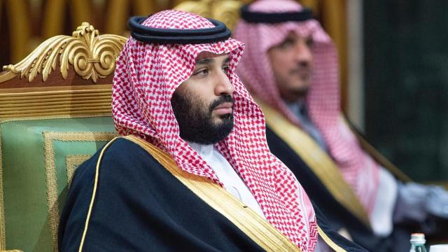 Suudi Arabistan Veliahtı, İngiltere Dışişleri Bakanı'yla görüştü