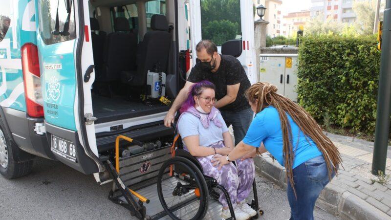 Nilüfer Belediyesi'nden engelli öğrencilere sınav desteği
