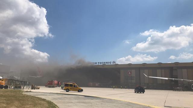 Atatürk Havalimanı'nda patlama! THY'den açıklama