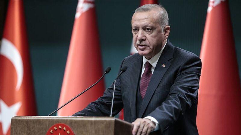Cumhurbaşkanı Erdoğan'dan Milli Takım'a destek paylaşımı