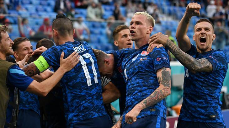 Nefes kesen maç Slovaklar'ın!