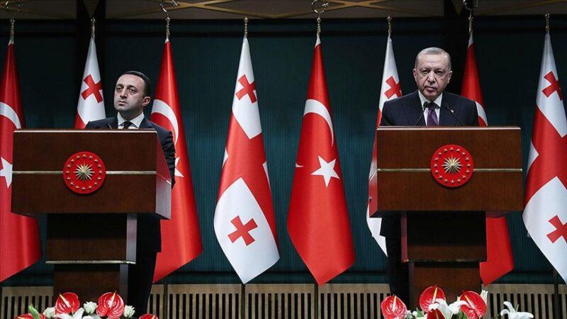 Cumhurbaşkanı Erdoğan: Türkiye-Azerbaycan-Gürcistan iş birliğine varız
