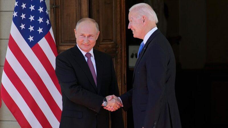 Putin ve Biden Cenevre'de bir araya geldi