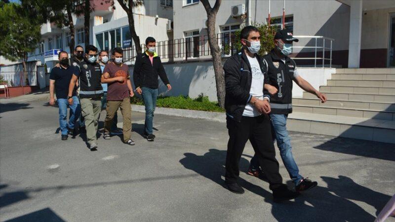 Botla Yunanistan'a kaçmaya çalışan 7 FETÖ'cü yakalandı