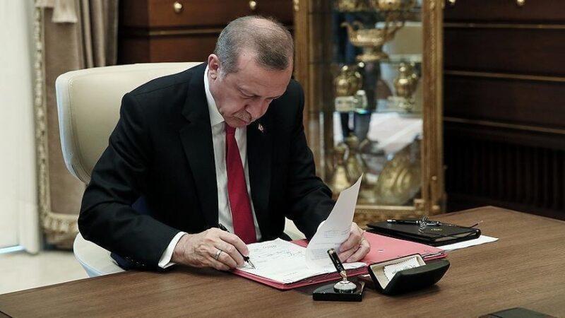 Cumhurbaşkanı Erdoğan'ın imzasıyla yayımlandı! Resmen kuruldu