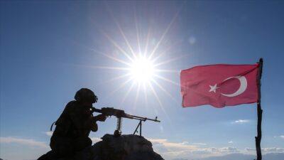 MSB açıkladı! 5 PKK'lı terörist etkisiz…