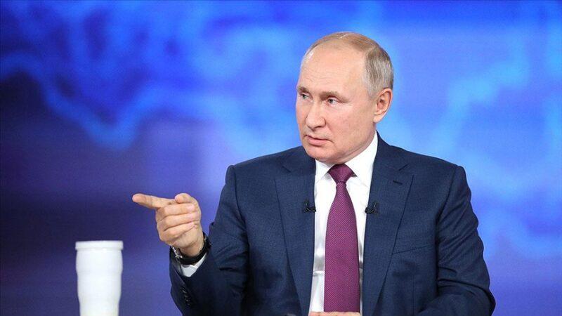 Putin'den Karadeniz'deki İngiliz savaş gemisi ile ilgili açıklama