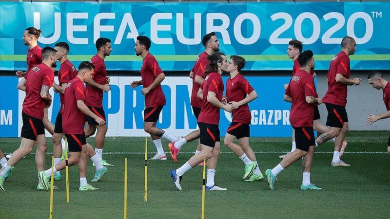 Milli Takım, İsviçre maçı hazırlıklarını tamamladı
