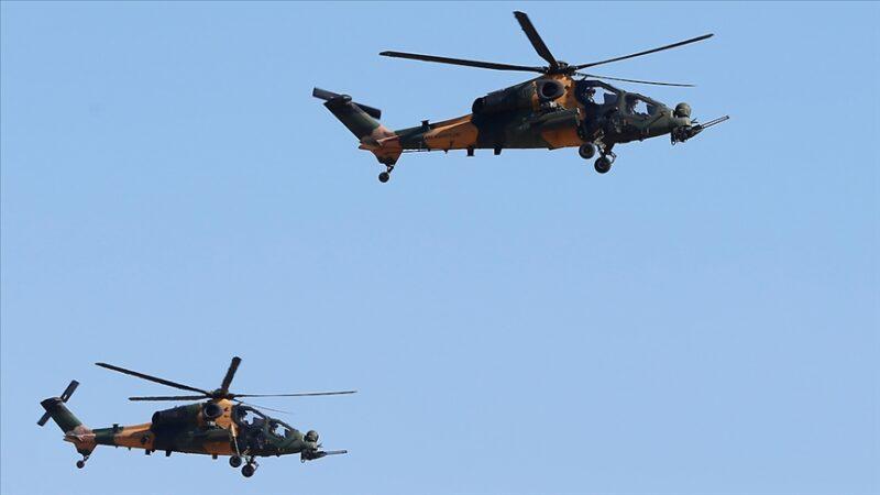 Kara Kuvvetleri Komutanlığının envanterine bir Atak helikopteri daha alındı