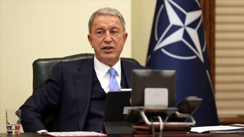 Hulusi Akar'dan NATO açıklaması