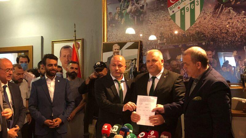 Bursaspor'da yeni dönem!
