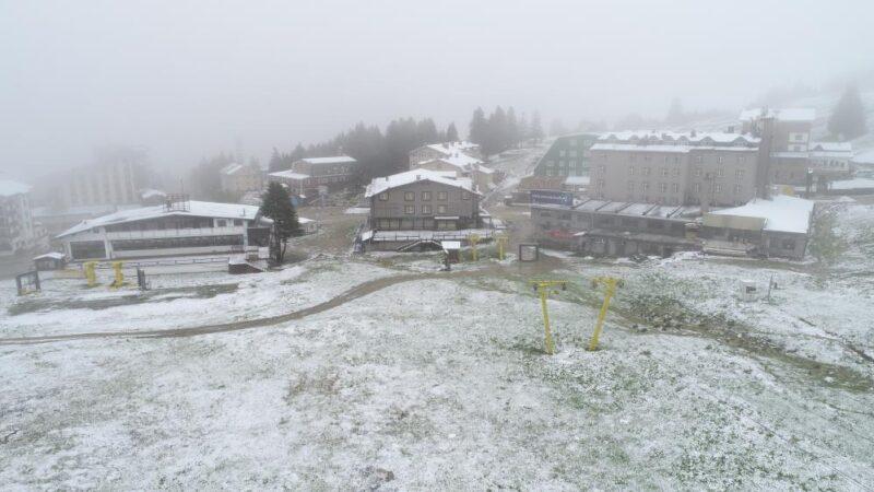 Bursa'da kar sürprizi!