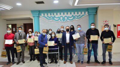 Yıldırım'da 'Proje Hazırlama ve Yönetimi' kursiyerleri sertifikalarını aldı