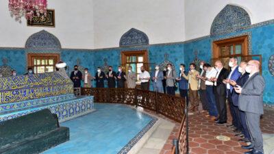 Yıldırım Belediyesi Çelebi Mehmed'i vefatının 600'üncü yılında dualarla andı