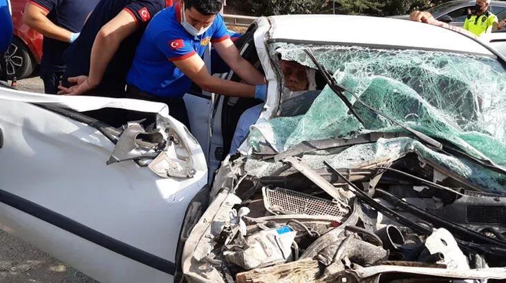 Adana'ya mülakat için gelen 5 milli eğitim müdürü, kazada yaralandı