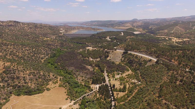 'Yanık Ülke'nin 12 bin yıllık kanyonu büyük ilgi çekiyor