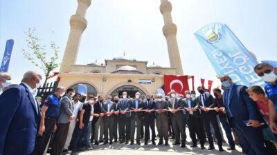 Selahaddin Eyyubi Camii törenle açıldı