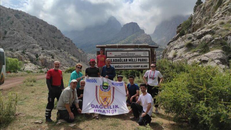 Belediyesporlu dağcılar 2 günde 5 zirve gördü