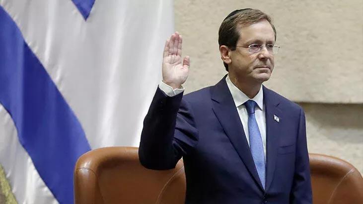 İsrail'in yeni Cumhurbaşkanı Herzog göreve başladı