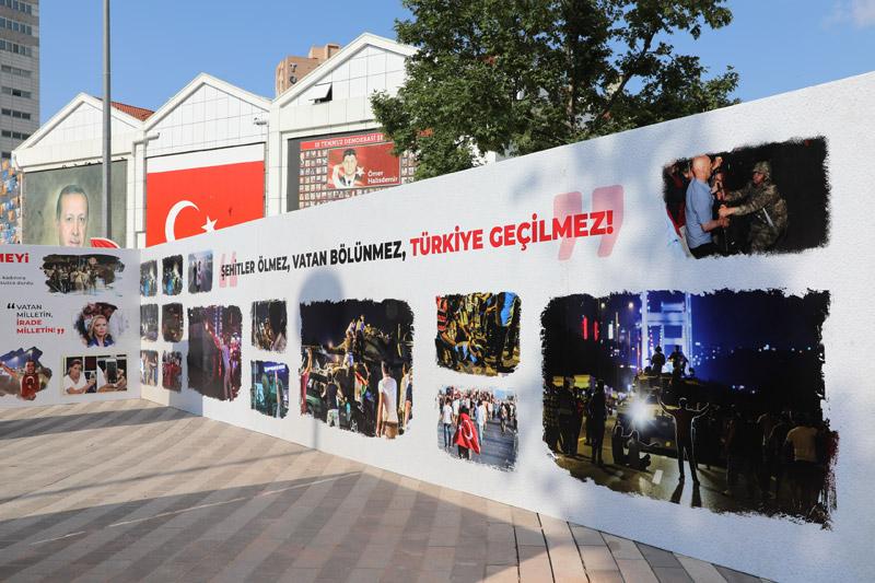 Bursa'da '15 Temmuz Hafıza Sergisi' açıldı