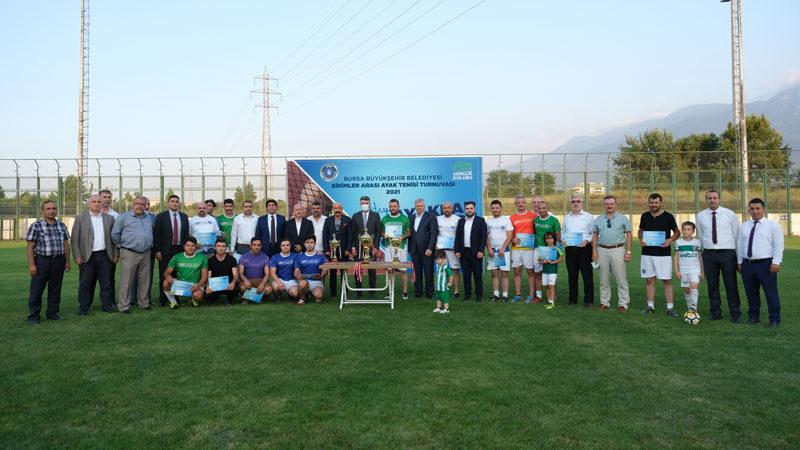 Büyükşehir'in şampiyonu Spor İşleri
