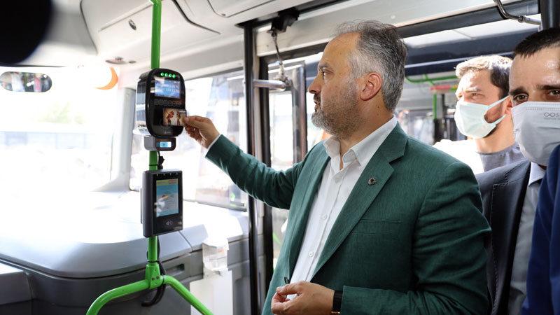 Bursa'da toplu ulaşımda önemli adım! Bir ilçede daha başladı