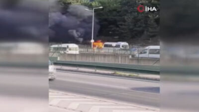 Bursa'da korku dolu dakikalar! İşçiler ölümden döndü