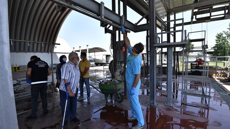 Osmangazi'de özel kesim yerlerinde hijyen denetimi