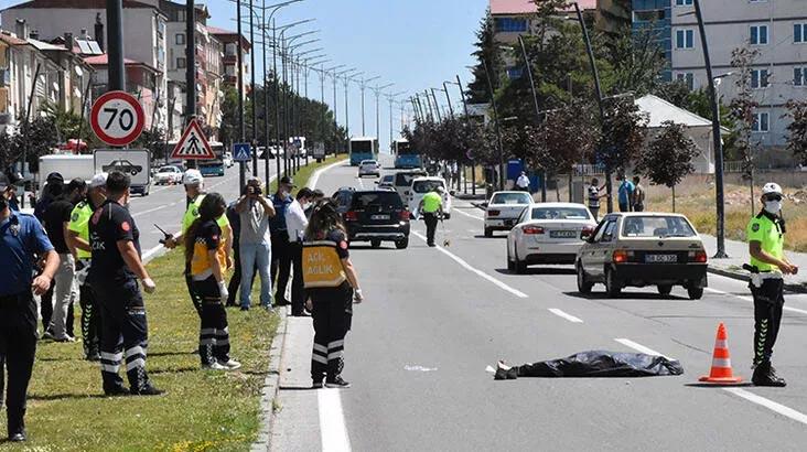 Yolun karşısına geçmek isterken araç çarpmasıyla öldü
