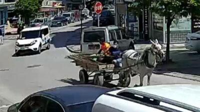 Bursa'da dörtnala kaçış kamerada