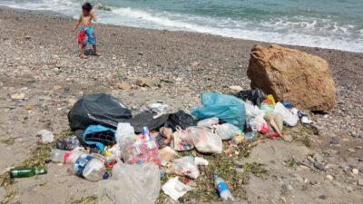Görüntü Bursa'dan… Çöplüğe çevirdiler