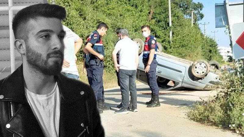 Bursa'da otomobil takla attı: 1 ölü